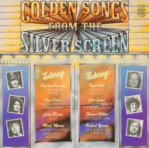 Golden Songs from the Silver Screen original soundtrack