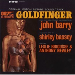 Goldfinger original soundtrack