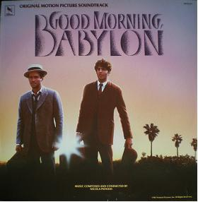 Good Morning Babylon original soundtrack