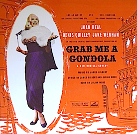 Grab Me a Gondola original soundtrack