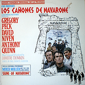 Guns of Navarone original soundtrack