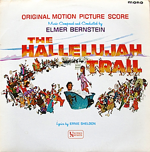 Hallelujah Trail original soundtrack