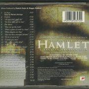 hamlet Sony Classical SK 62857 back