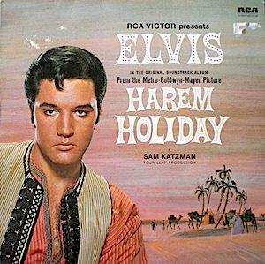 Harem Holiday original soundtrack
