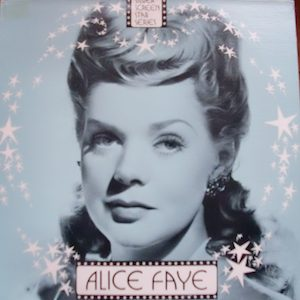 Alice Faye: Silver Screen Stars original soundtrack