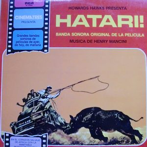 Hatari! original soundtrack