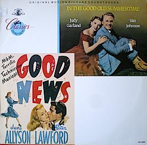 In the Good Old Summertime & Good News original soundtrack