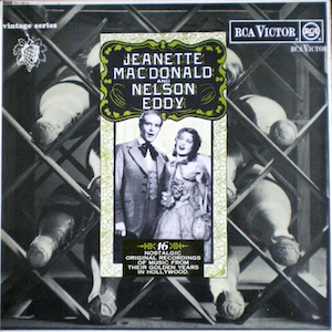 Jeanette MacDonald and Nelson Eddy original soundtrack