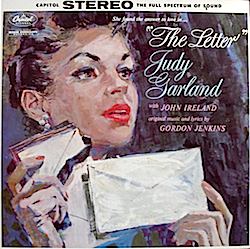 Judy Garland: The Letter original soundtrack