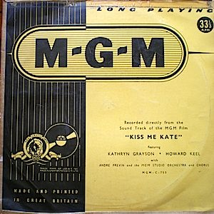 Kiss me Kate OST original soundtrack