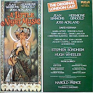 Little Night Music: Original London Cast original soundtrack