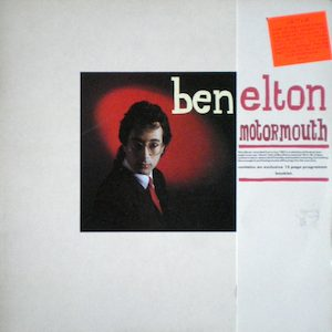 Motormouth: Ben Elton original soundtrack