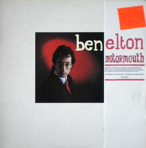 Motormouth: Ben Elton original soundtrack