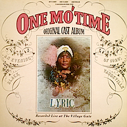 One Mo' Time original soundtrack