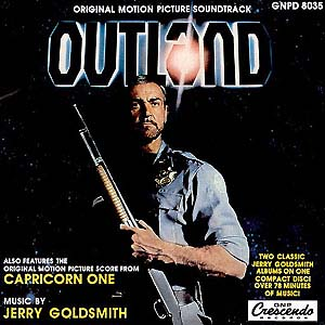 Outland / Capricorn One original soundtrack