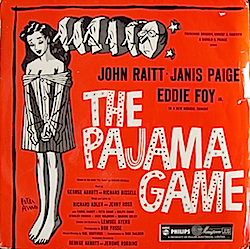 Pajama Game: Broadway Cast original soundtrack