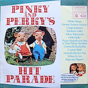 Pinky and Perky Hit Parade original soundtrack
