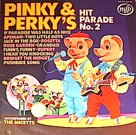 Pinky & Perky's Hit Parade No. 2 original soundtrack