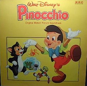 Pinocchio original soundtrack
