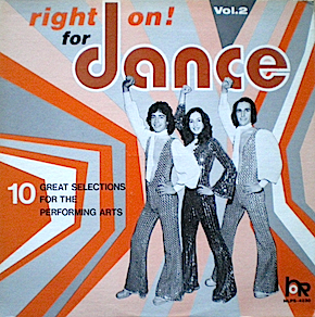 Right On! for Dance vol.2 original soundtrack