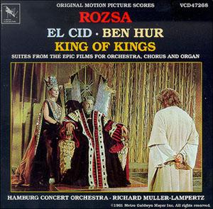 Rozsa: Epic Suites for Orchestra original soundtrack