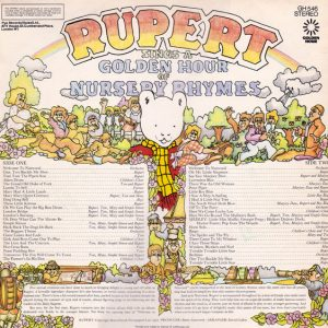 Rupert Sings A Golden Hour Of Nursery Rhymes original soundtrack