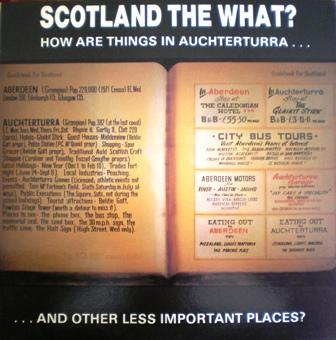 Scotland the What? Achterturra original soundtrack