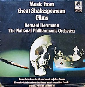 Music from Great Shakespearean Films original soundtrack
