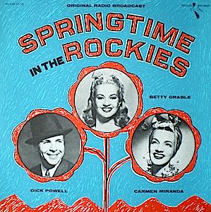 Springtime in the Rockies original soundtrack