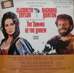 Taming of the Shrew / Bisbetica Domata original soundtrack