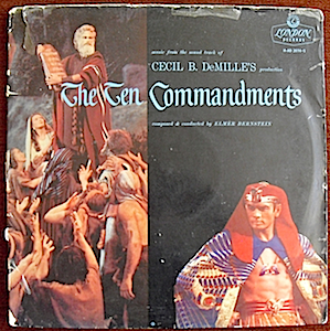Ten Commandments original soundtrack