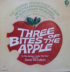 Three Bites of the Apple original soundtrack