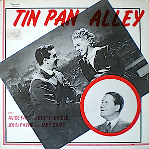 Tin Pan Alley original soundtrack