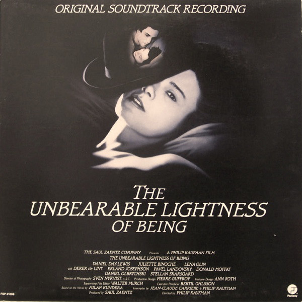Unbearable Lightness of Being original soundtrack