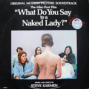 What Do You Sat to a Naked Lady? original soundtrack