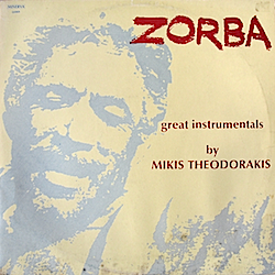 Zorba: Great Instrumentals original soundtrack