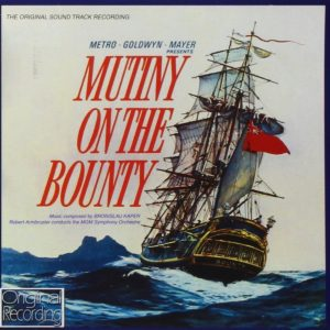 Mutiny on the Bounty original soundtrack