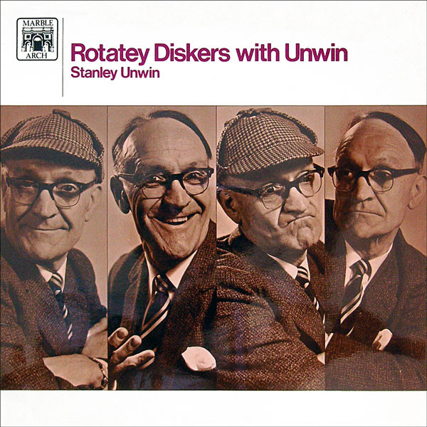 Rotatey Diskers with Unwin original soundtrack