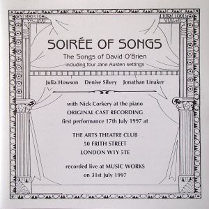 Soirée of Songs original soundtrack
