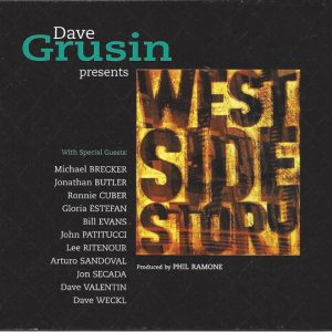 West Side Story: Dave Grusin Presents original soundtrack