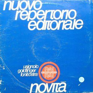 Nuovo Repertorio Editorale: Canzoni original soundtrack