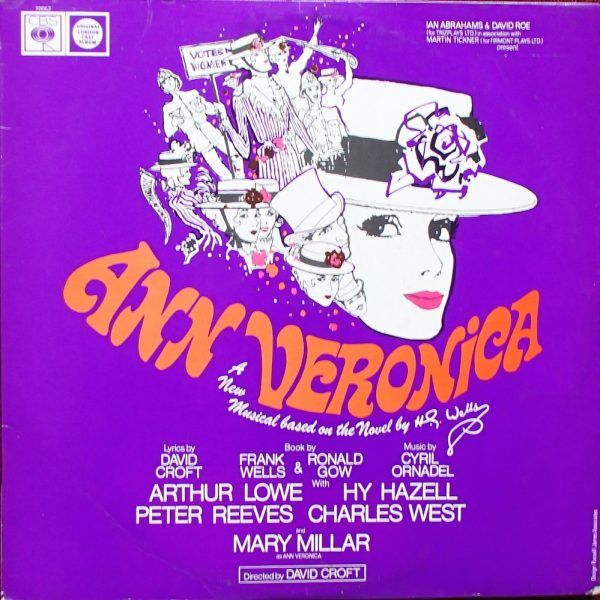 Ann Veronica: London cast original soundtrack