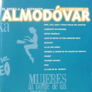 Canciones de Almodóvar original soundtrack