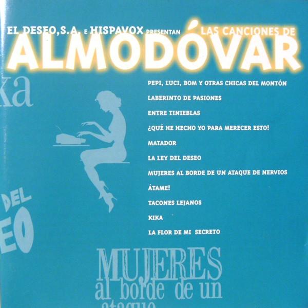 Canciones de Almodóvar original soundtrack