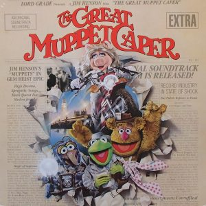 Great Muppet Caper original soundtrack