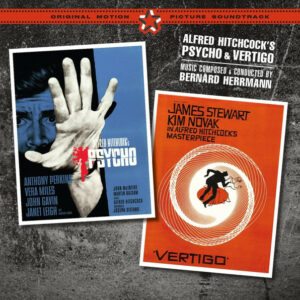 Psycho + Vertigo original soundtrack