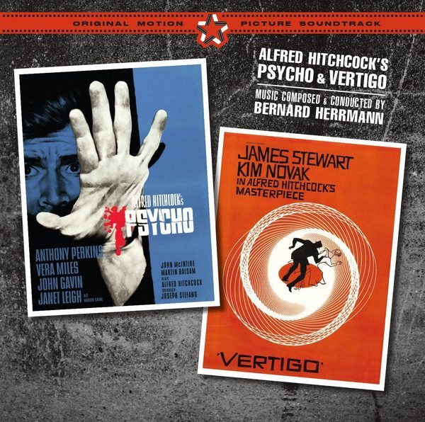 Psycho + Vertigo original soundtrack