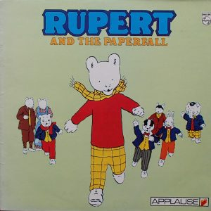 Rupert and the Paperfall original soundtrack