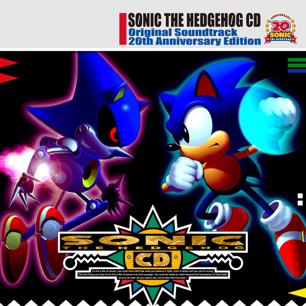 Sonic The Hedgehog CD - Original Soundtrack 20th Anniversary Edition original soundtrack