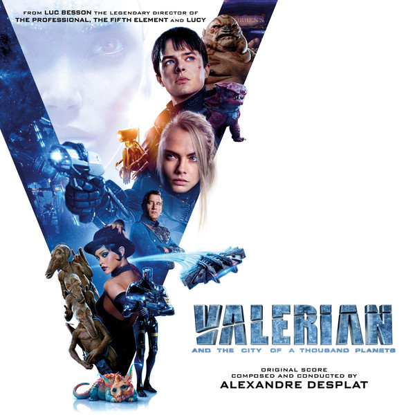 Valerian And The City Of A Thousand Planets original soundtrack
